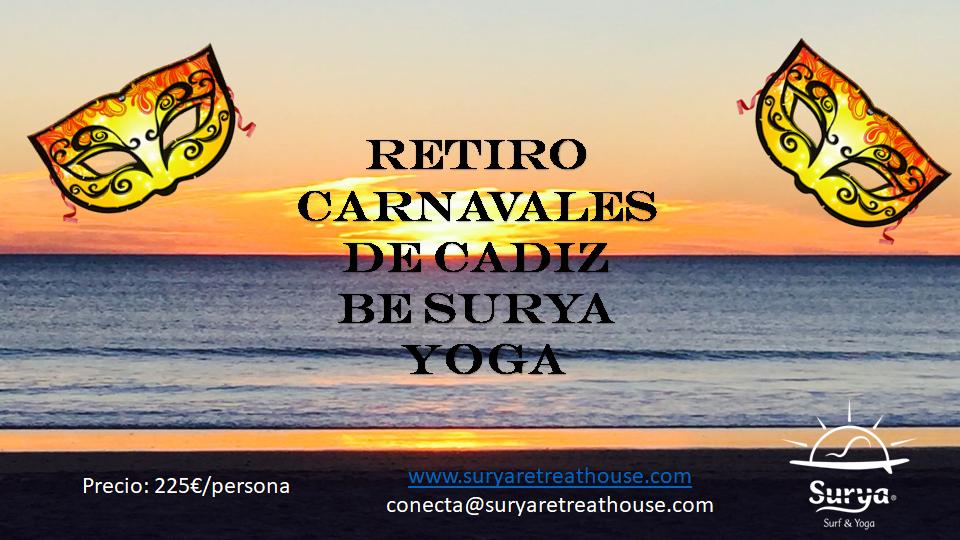 Retiro Yoga Carnavales Cádiz @ Surya Surf & Yoga Retreat House