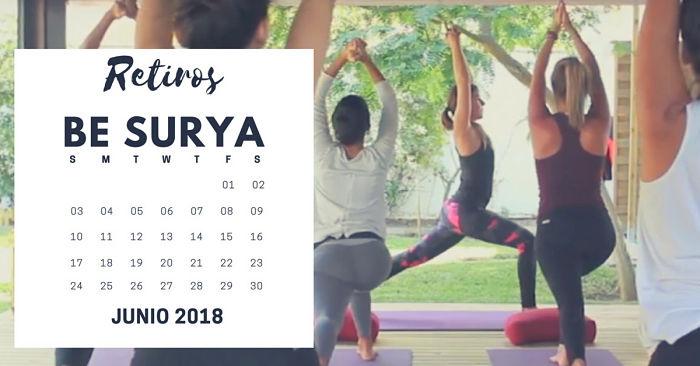 Calendario retiro junio SURYA