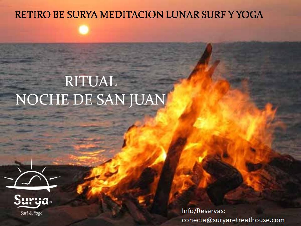 Noche de San Juan, retiro surf y yoga en Cádiz