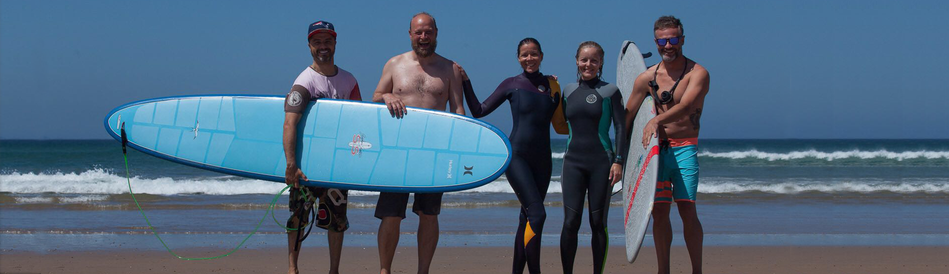 Retiro de Yoga orientado al Surf, grupos Cádiz